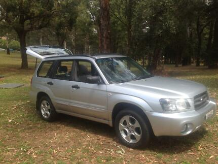 2004 SUBARU FORESTER XS LUXARY