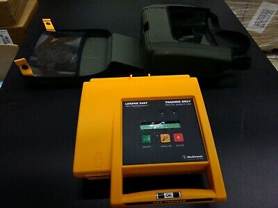 Medtronic Lifepak 500t Aed Training System Wremote No Battery Good Condition