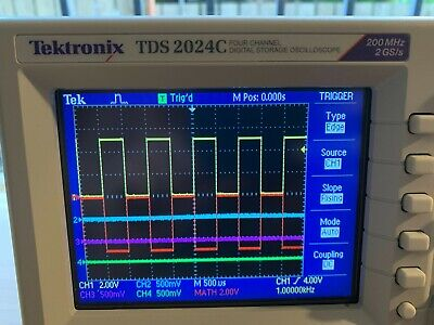 Tektronix Tds 2024c 4-channel Digital Oscilloscope 200mhz 2gss