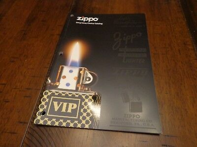 2013/2014 CHOICE ZIPPO LIGHTER CATALOG UNUSED