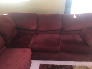 Sectional couch sofa bed