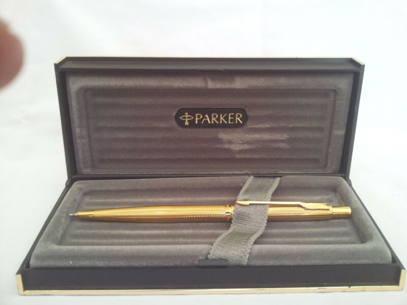 PARKER 9 CT GOLD PLATED PENCIL