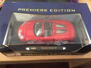 1:18 Maisto Porsche Carrera GT Metal Collector Car BNIB