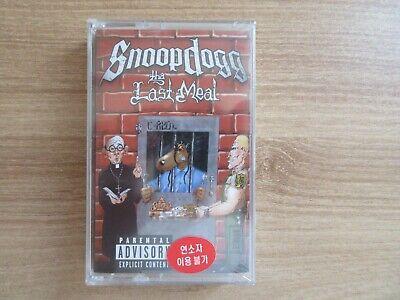 Snoop Dogg - Tha Last Meal Korea Orig Cassette Tape SEALED NEW RARE