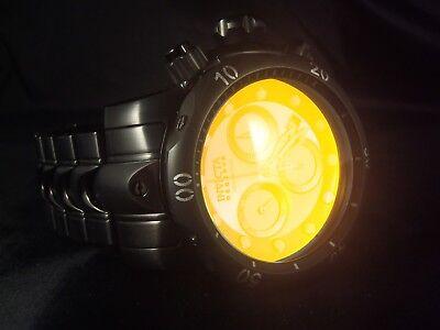 Invicta Reserve Men's 54mm Venom Tinted Crystal Swiss Quartz Chronograph Watch