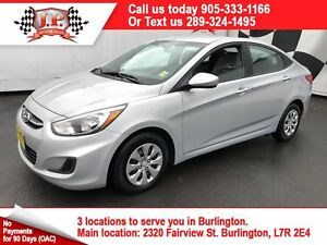 2016 Hyundai Accent GL. Automatic, Heated Seats, Bluetooth