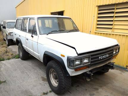 Wrecking 89 Toyota Landcruiser FJ62 MT 4WD 160332, Parts Only