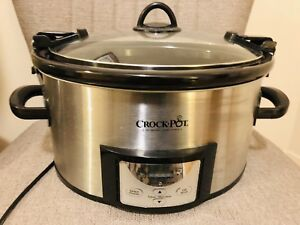 Electric Crock Pot slow pressure cooker