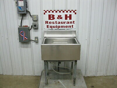 23 Stainless Steel Under Bar Ice Well Bin Cold Plate