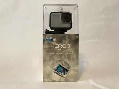 GoPro HERO7 Waterproof Digital Action Camera - White (CHDHB-601) - Brand New!