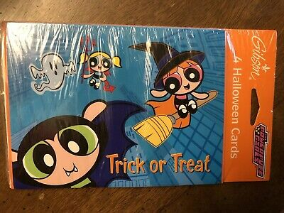 Halloween Powerpuff Girls (New 2002 Cartoon Network Powerpuff Girls Gibson Halloween)