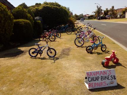 Bicycle sales, repairs, servicing, restorations and custom built
