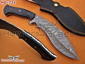 Damascus Custom Handmade Hunting 13