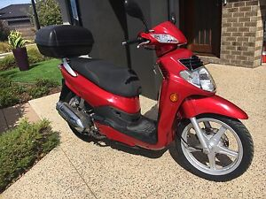 SYM HD 200 Scooter 2008 Model RED Colour Melton South Melton Area Preview