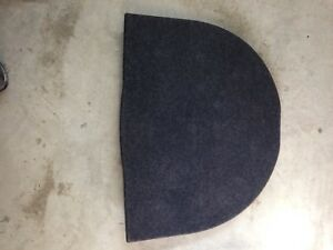 2012-13 Cadillac CTS hood shield, spare tire cover, eng shields