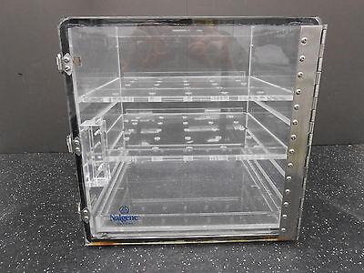 Nalgene 5317-012 Acrylic Desiccator Dry Cabinet 12x12x12