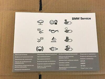 BMW SERVICE BOOK 5 SERIES F07 F10 F11 GRAN TURISMO ESTATE Owners Handbook Manual