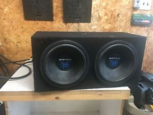 Subwoofers with amplifier
