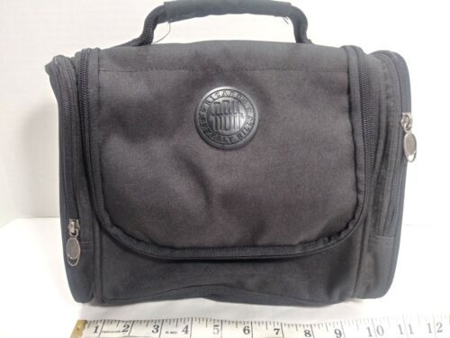 Ricardo Beverly Hills Toiletry Make-up Travel Bag/Medicine Bag Black  - $15.95