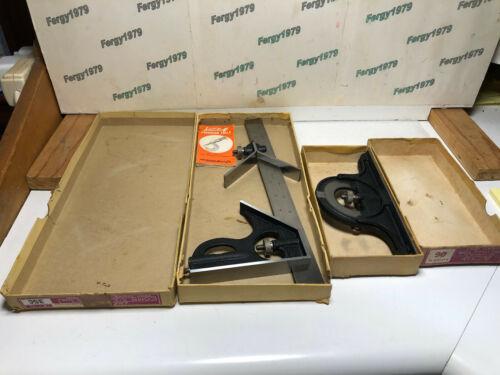 "Lufkin Combination Set, Rare 2507, 12"" Blade. Original 35C & 06 Boxes"