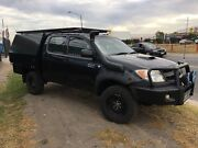 2006 TOYOTA HILUX 4x4 SR Cab Chassis Dual Cab WITH REGO AND RWC Ravenhall Melton Area Preview