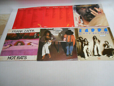 Frank Zappa - Sammlung 7 LP's ->Hinweis beachten