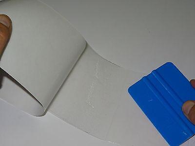 Lackschutzfolie selbstklebend transparent 100cmx12 cm (350µm dick) von 3M +Rakel