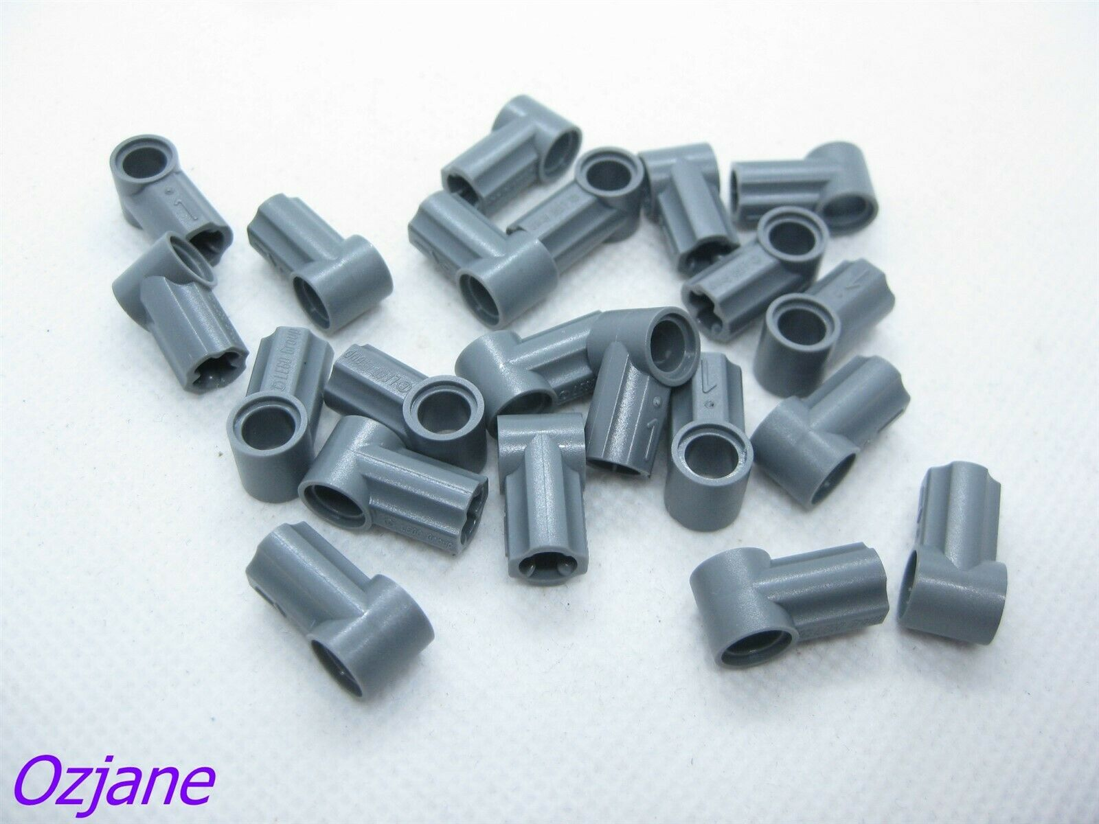 Pack of 4 Axle and Pin Connector 32184 LIGHT BLUISH GREY LEGO Parts NEW