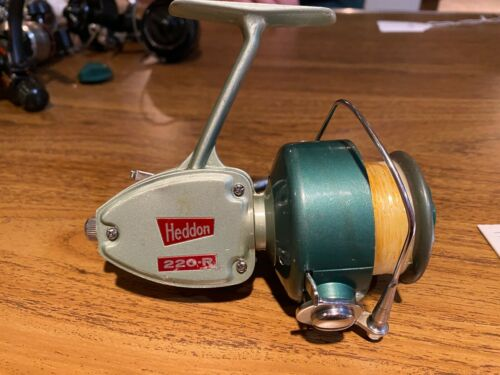 Heddon 220-R Fishing Reel - Excellent Condition!