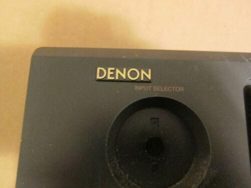 Denon logo bezel emblem plastic