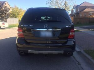 2007 Mercedes Benz ML 320 CDI 4 Matic