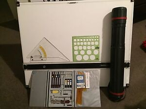 A0 Drafting Table with Drafting Tools Epping Whittlesea Area Preview