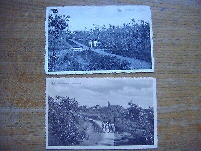 Lot de 2 cartes de DUINBERGEN ( Knokke Heist ) - Le Petit Bois