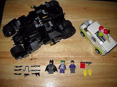 Lego Batman 7888 The Tumbler Jokers Ice Cream Surprise Complete  Sale