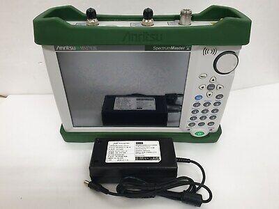 Anritsu Ms2712e Spectrum Master Handheld Spectrum Analyzer 9khz To 4ghz