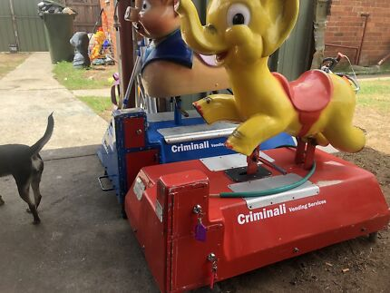 2 x Coin operated Kids Rides for Hire