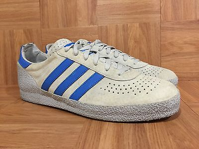 RARE Adidas Montreal Vintage Fashion Sneakers Sz 11 Gray Blue Men's 2003 Used