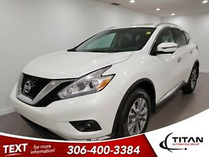 2017 Nissan Murano SL|V6|AWD|CAM|NAV|Leather|Sunroof
