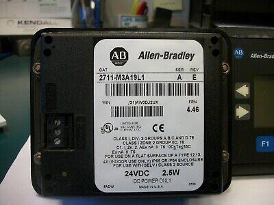 Allen Bradley 2711-m3a19l1 A Frn 4.41 Panelview 300 Micro Touchscreen Keypad 3