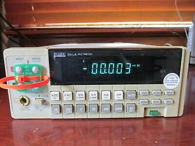Fluke 8842a True Rms Digital Multimeter Tested Option 09 Ac Option 05 Ieee