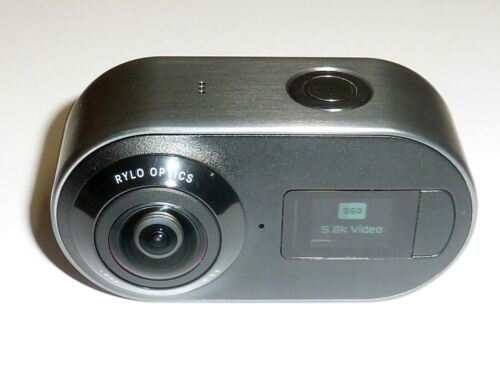 Rylo 360 Video Camera 4K 5.8K Camcorder - MINT CONDITION - SCRATCH-FREE LENSES