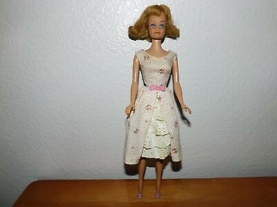 Barbie: 1960's Vintage Blond Garden Party Midge doll - Preowned - Butt Embossed