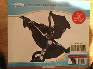 Adaptateur pour Baby jogger / coquille Chicco