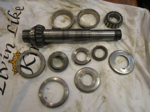 """Atlas Craftsman 10"""" 12"""" Metal Lathe Headstock Spindle Timkin Bearings ASM"""