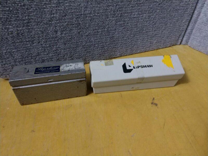 2 Vintage Lipshaw Microtome Knife Blades