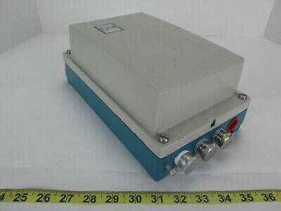 New Fischer Porter Mini Mag X Magnetic Flowmeter Model 10d1475 Junction Box