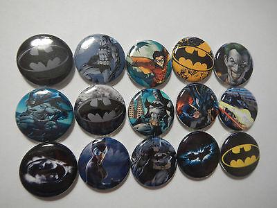 Batman Super Hero Comic Book Pinback Button Pins Badge Goody Treats Party Favors