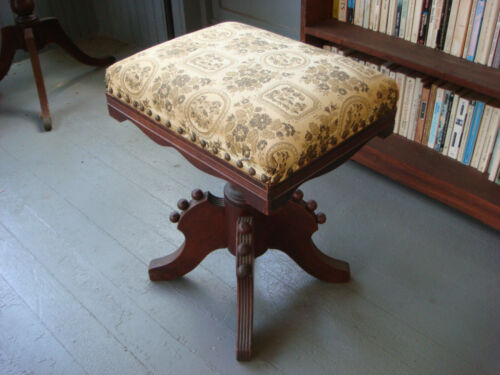 Charles Parker Antique Piano Stool