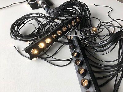Eurotec Lichtleiter mit großer LED Quelle Beleuchtung Trafo Kühlplatte