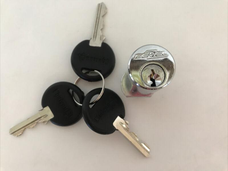 Chateau Cylinder Self Storage Lock C481-6 Bezel Lock with 3 Keys